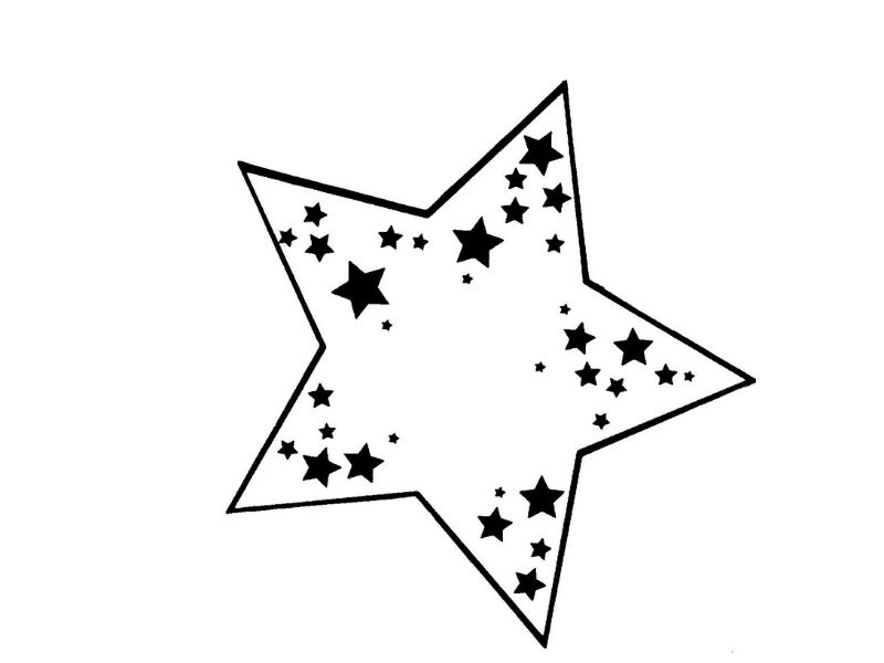 disegni stella