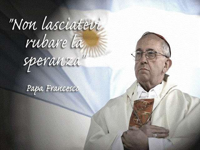 foto frasi papa francesco speranza