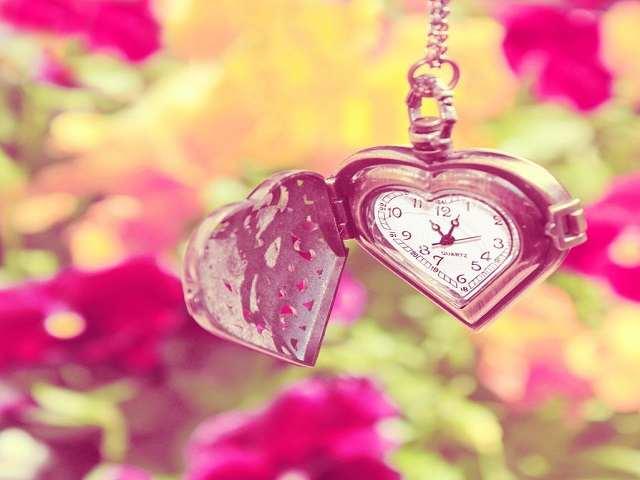 foto frasi sul tempo e l'amore