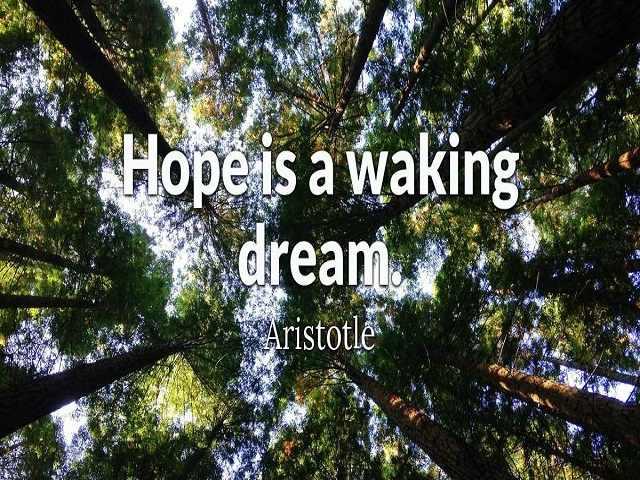 foto frasi sulla speranza in inglese