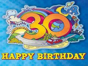 frasi di auguri di buon compleanno 30 anni