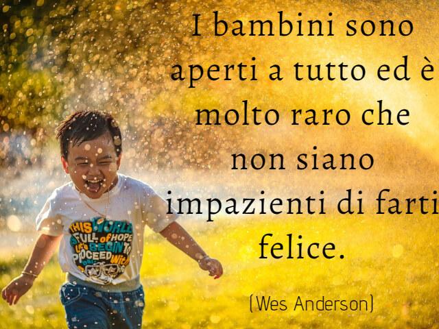 frasi felicità bambini