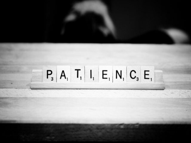 frasi pazienza calma