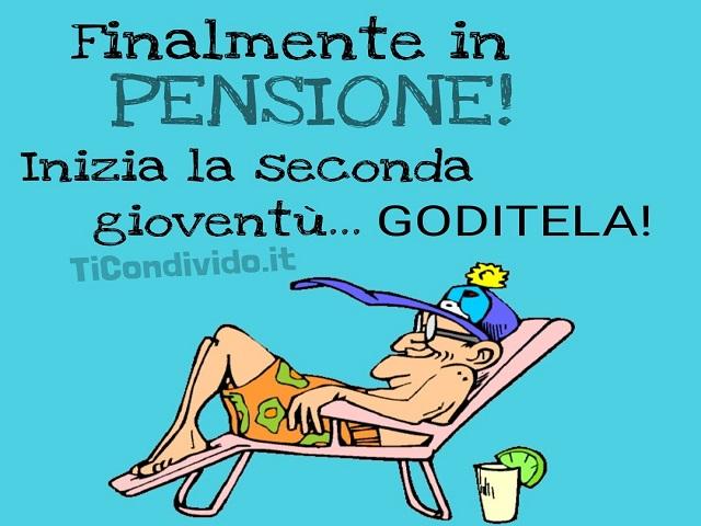 frasi per pensionamento scherzose