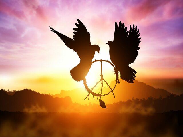 gesto di pace