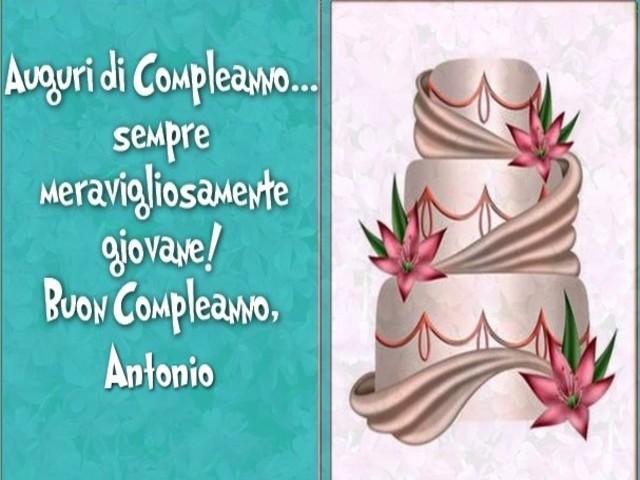 immagini compleanno Antonio