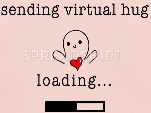 invio abbraccio virtuale