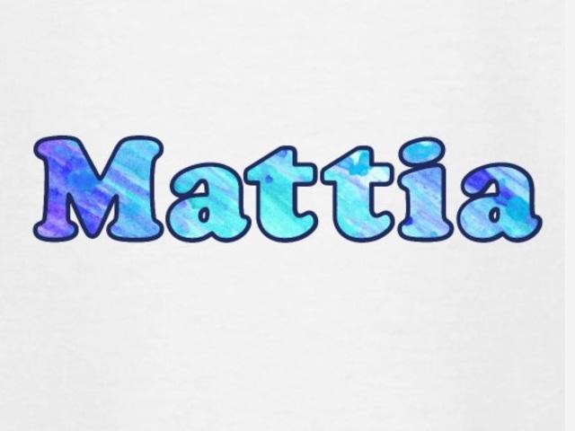mattia origine nome