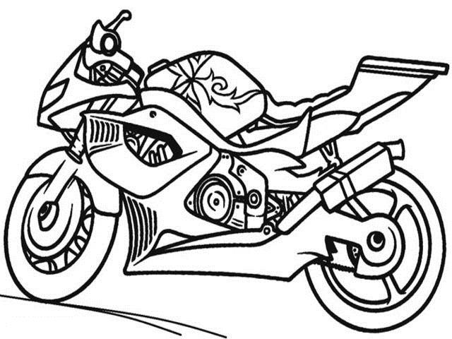 Immagini Moto 66 Disegni Da Colorare E Stampare A Tutto Donna
