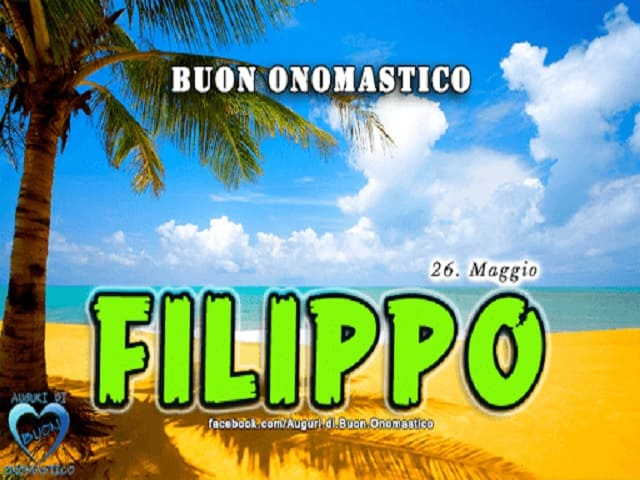 onomastico filippo