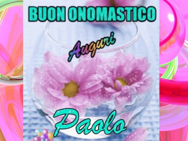 onomastico Paolo