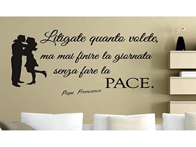 pace amore frasi