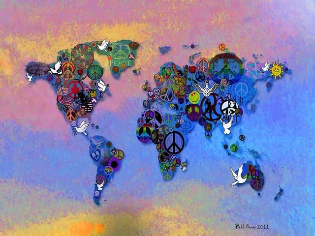 pace nel mondo immagine