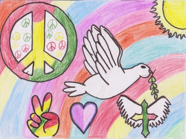 segno della pace immagini