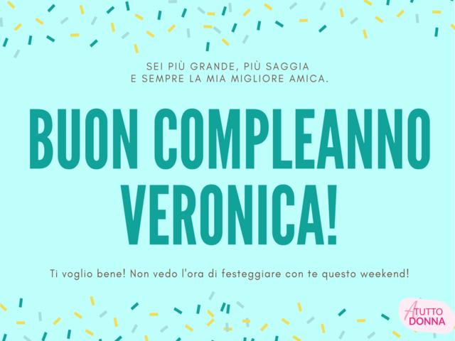 Auguri Veronica