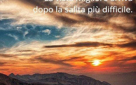 aria di montagna frasi