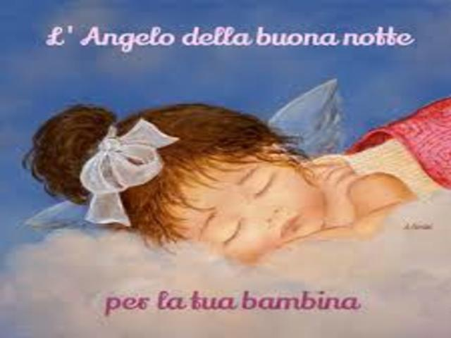 buonanotte degli angeli