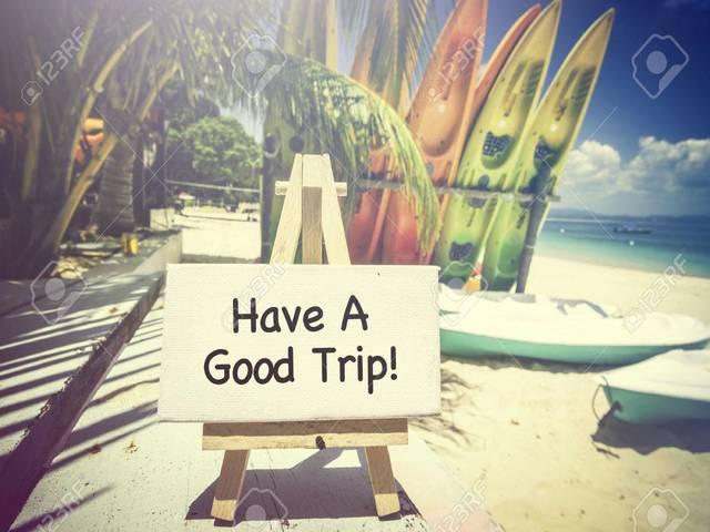 buon viaggio in inglese