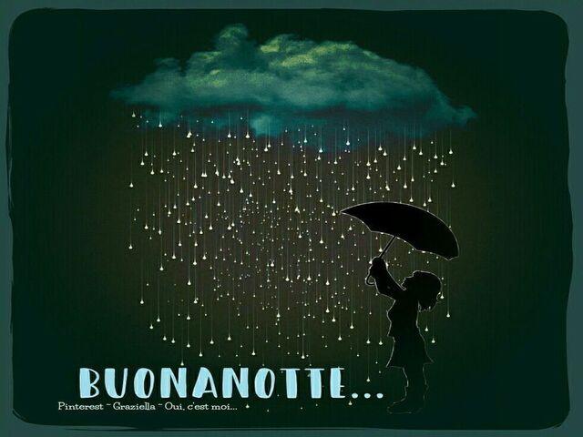 buonanotte pioggia