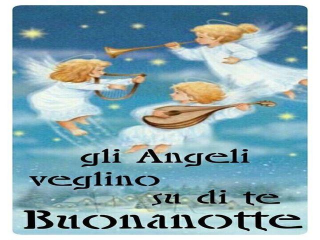buonanotte angeli