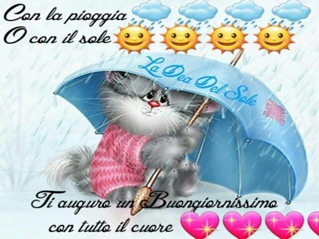 buongiorno pioggia immagini