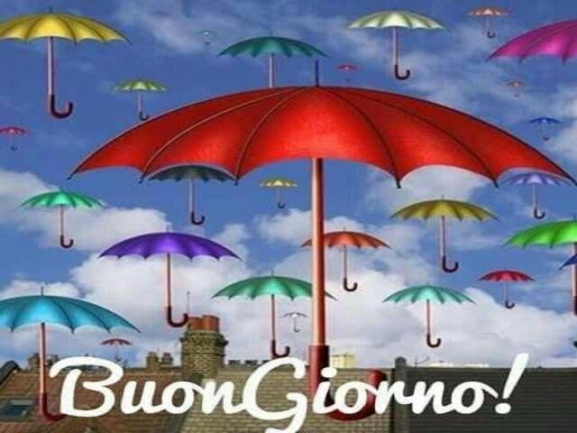 buongiorno pioggia
