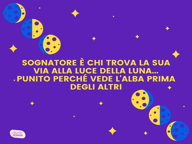 canzoni sulla luna frasi