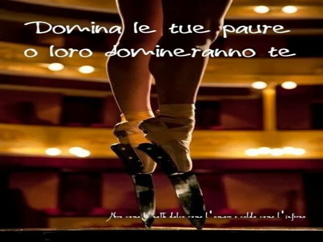 frase danza