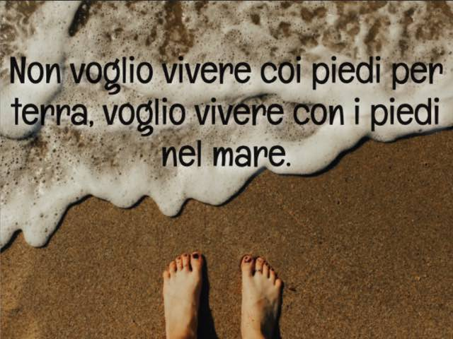 frasi d amore sul mare