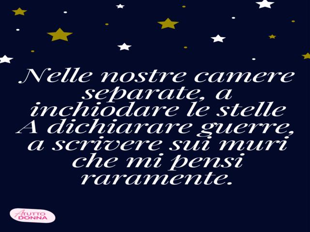 frasi d amore sulle stelle