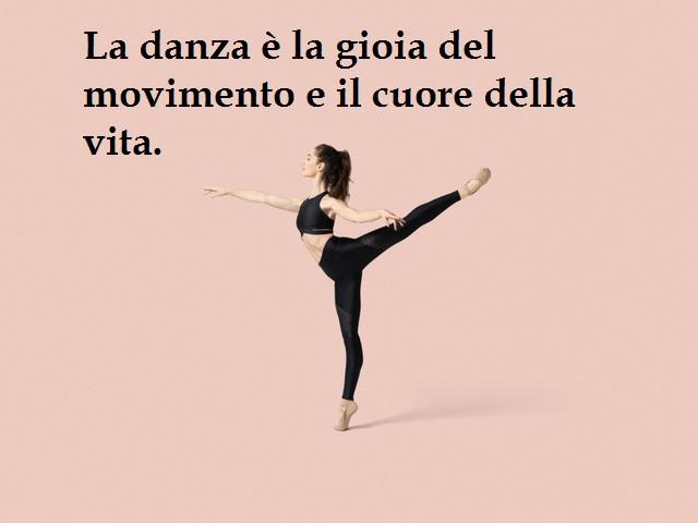 frasi danza