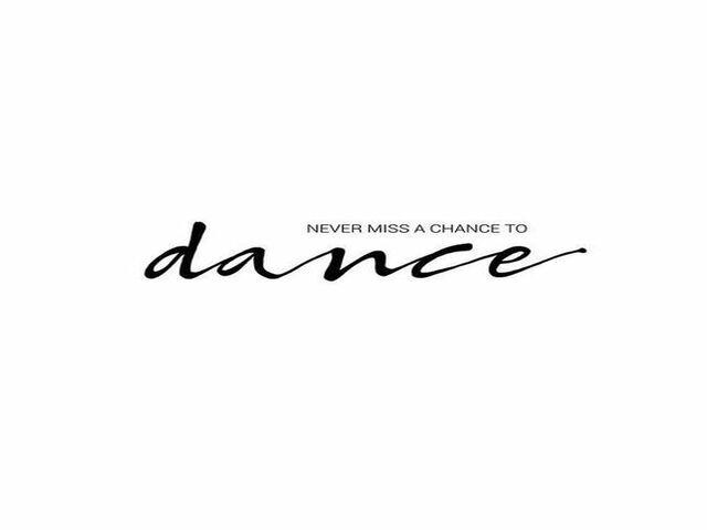 frasi di danza in inglese