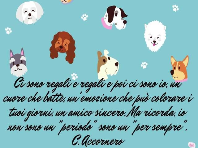 frasi dolci sui cani