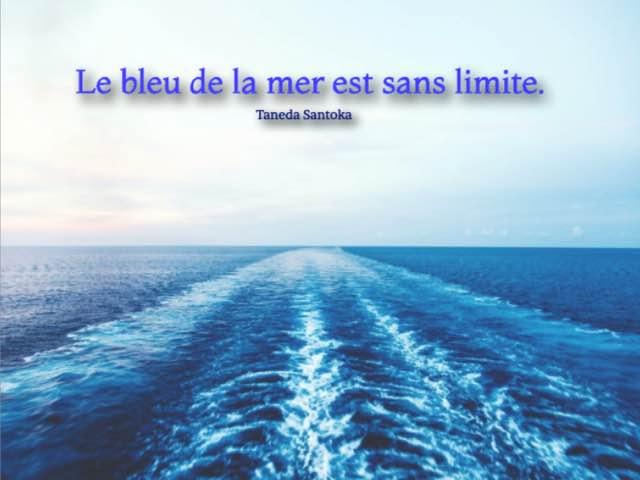 frasi in francese sul mare