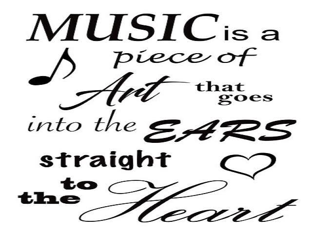 frasi storiche sulla musica