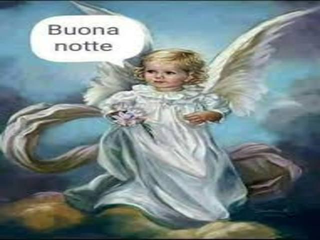 immagine della buonanotte angeli