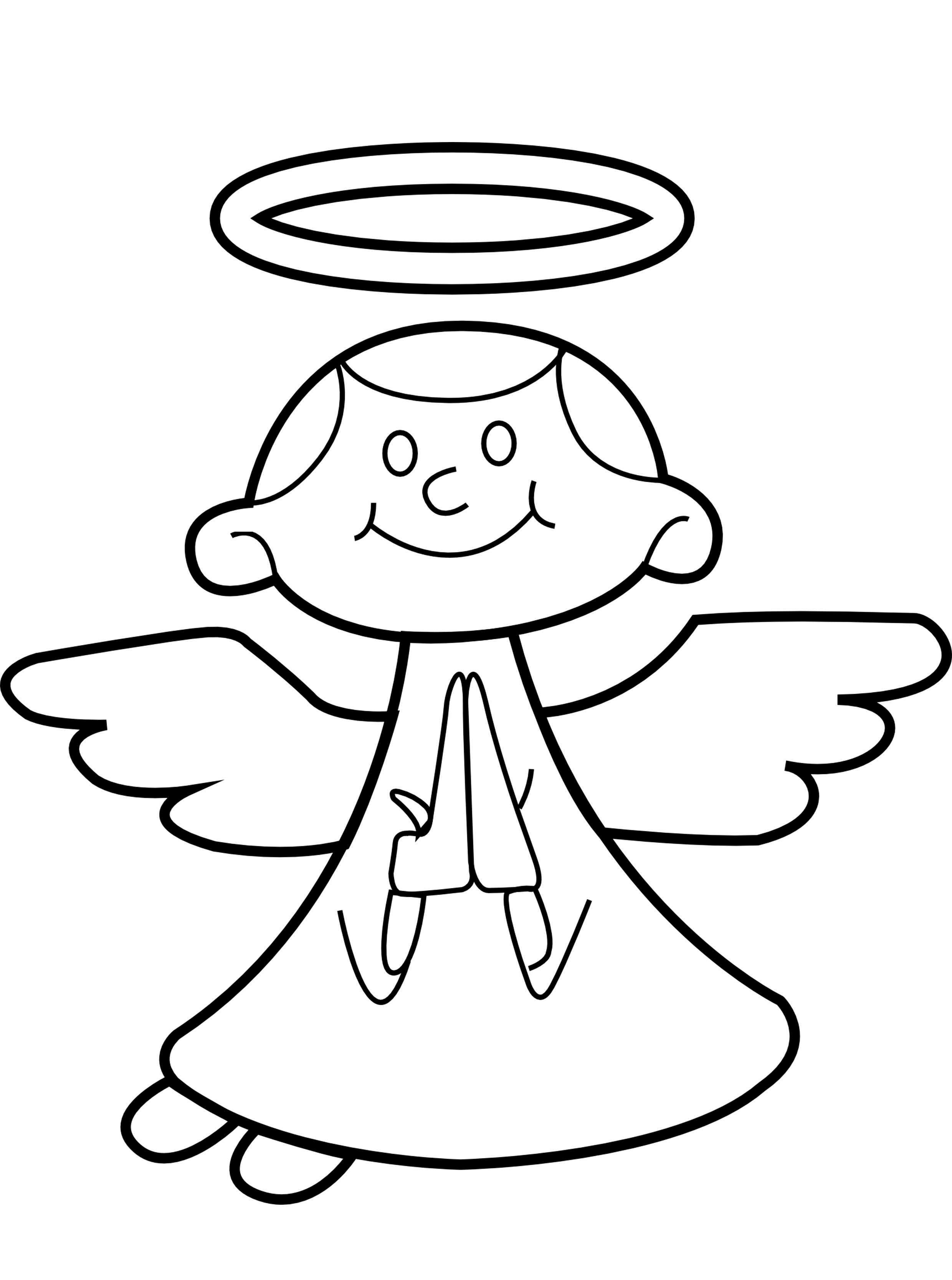 80 Immagini Di Angeli Disegni Da Colorare Per Bambini E Adulti A Tutto Donna