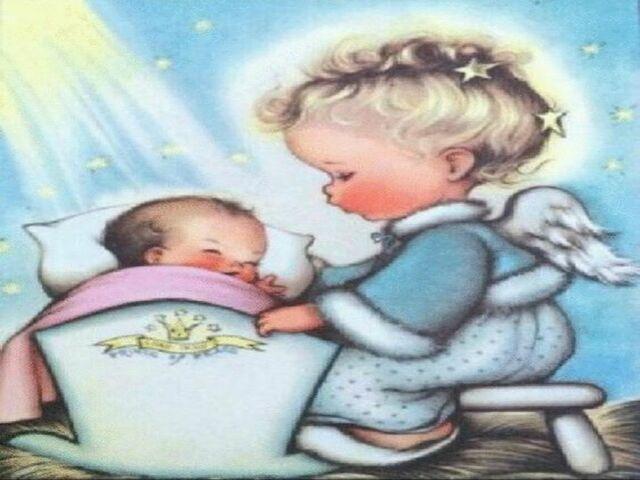 immagini di angeli bambini