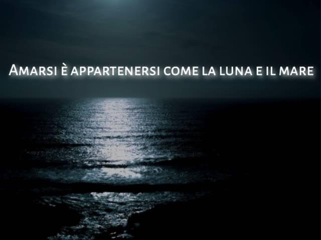immagini mare di notte
