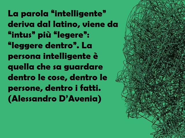 l'intelligenza frasi