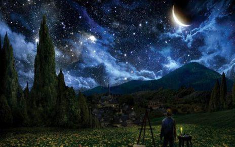 notte stellata frasi