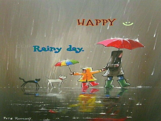 pioggia immagini frasi
