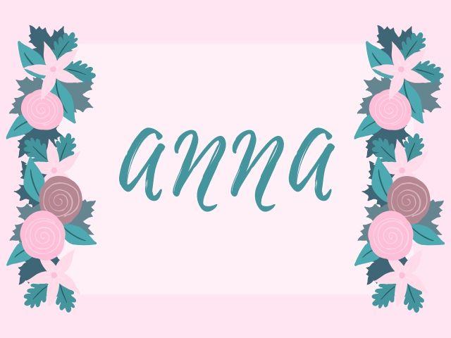 significato nome anna
