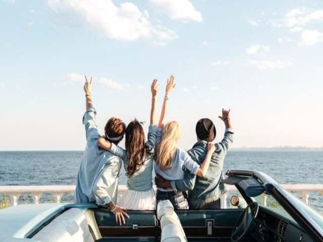 viaggiare con gli amici