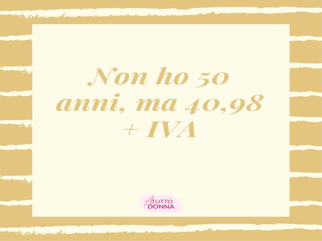 50 anni frase