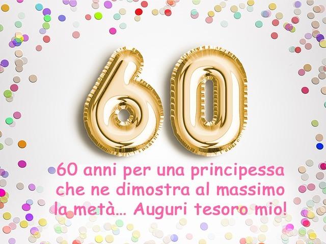 60 anni auguri spiritosi