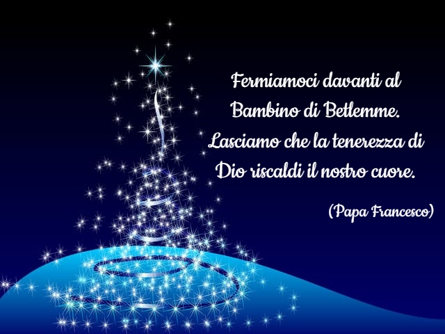 aforismi natale papa francesco 1