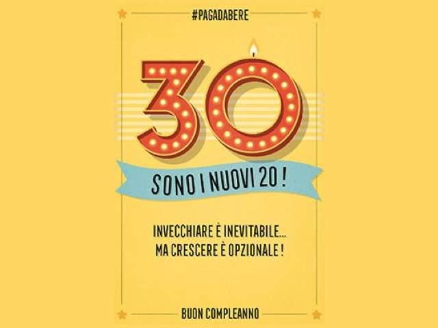 auguri compleanno divertenti 30 anni