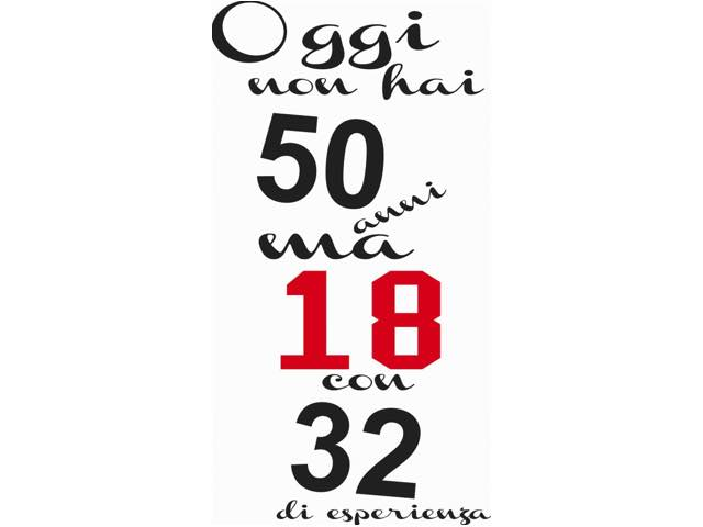 auguri compleanno divertenti 50 anni