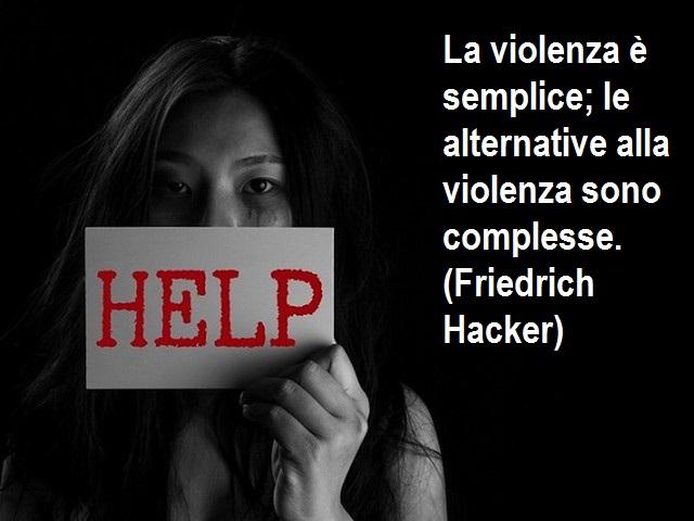 contro la violenza sulle donne frasi